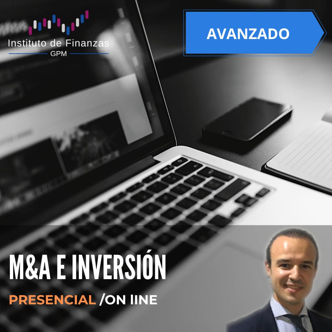 M&A e inversión – Presencial/On-line